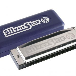 Hohner Silver Star Harmonica Key of B
