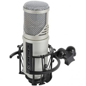 Citronic Studio Microphone & USB Audio Interface