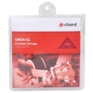 Chord Ukulele Strings - Clear