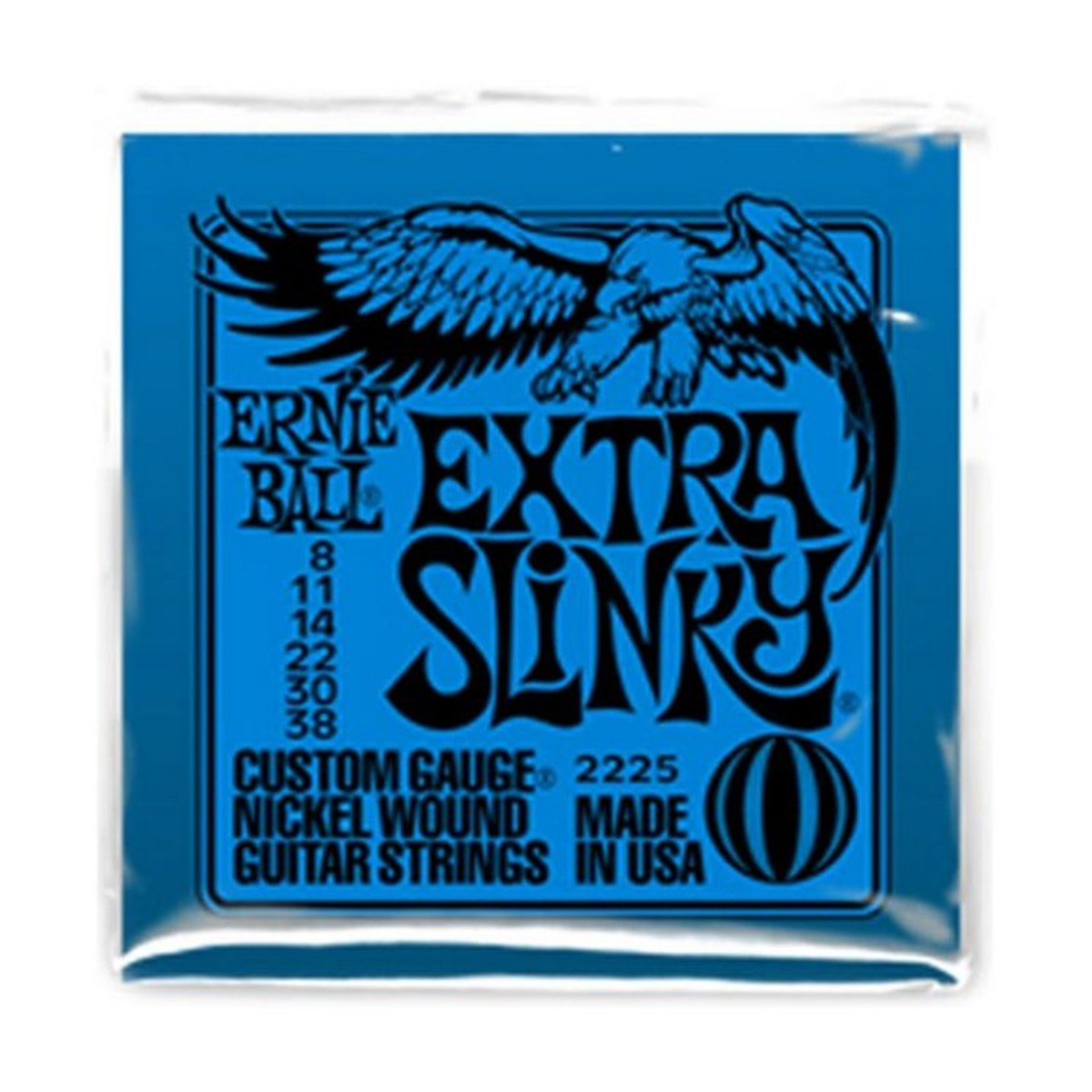 Ernie Ball Extra Slinky Strings 08-38
