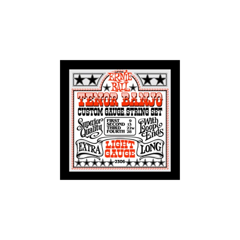 Ernie Ball Tenor Banjo Strings 09-28
