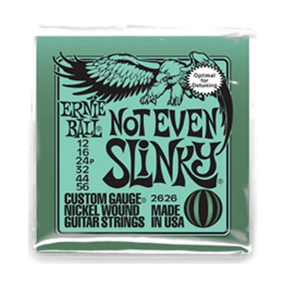 Ernie Ball Not Even Slinky Strings 12-56