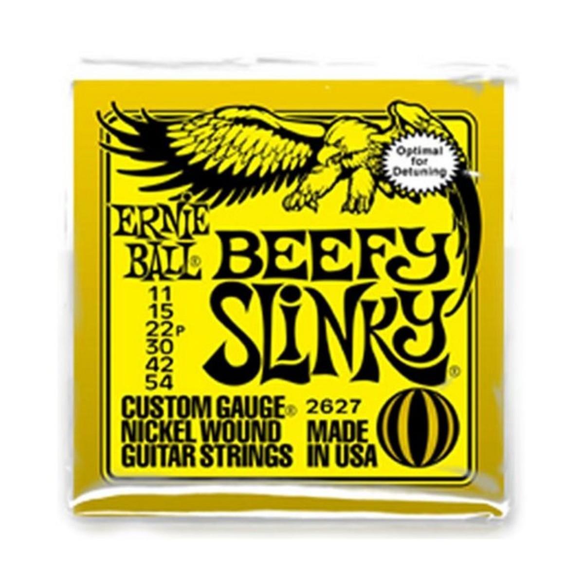 Ernie Ball Beefy Slinky Strings 11-54