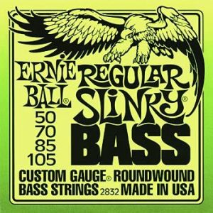 Ernie Ball Slinky Bass Guitar Strings 50 -105
