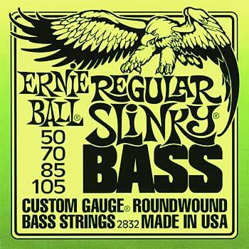 Ernie Ball Regular Slinky Bass Strings 50 -105