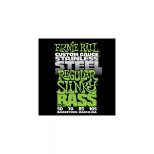 Ernie Ball Stainless Steel Bass Guitar Strings 50 -105