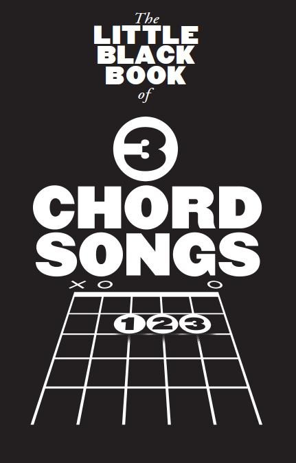 The Little Black Book Of 3 Chord Songs Trax Music Store