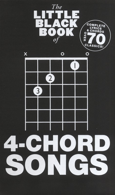 The Little Black Book of 4-Chord Songs - Trax Music Store
