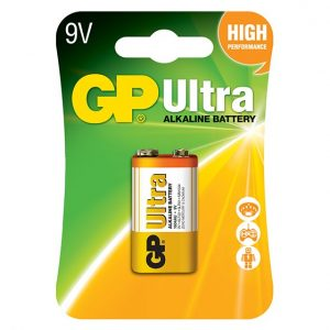GP Ultra Alkaline 9 Volt Battery