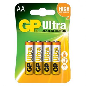 GP Ultra Alkaline AA Battery