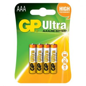 GP Ultra Alkaline AAA Battery