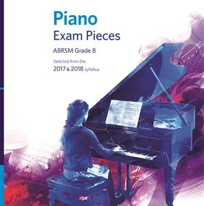 ABRSM Piano Exam Pieces Grade 8 & CD 2017-2018