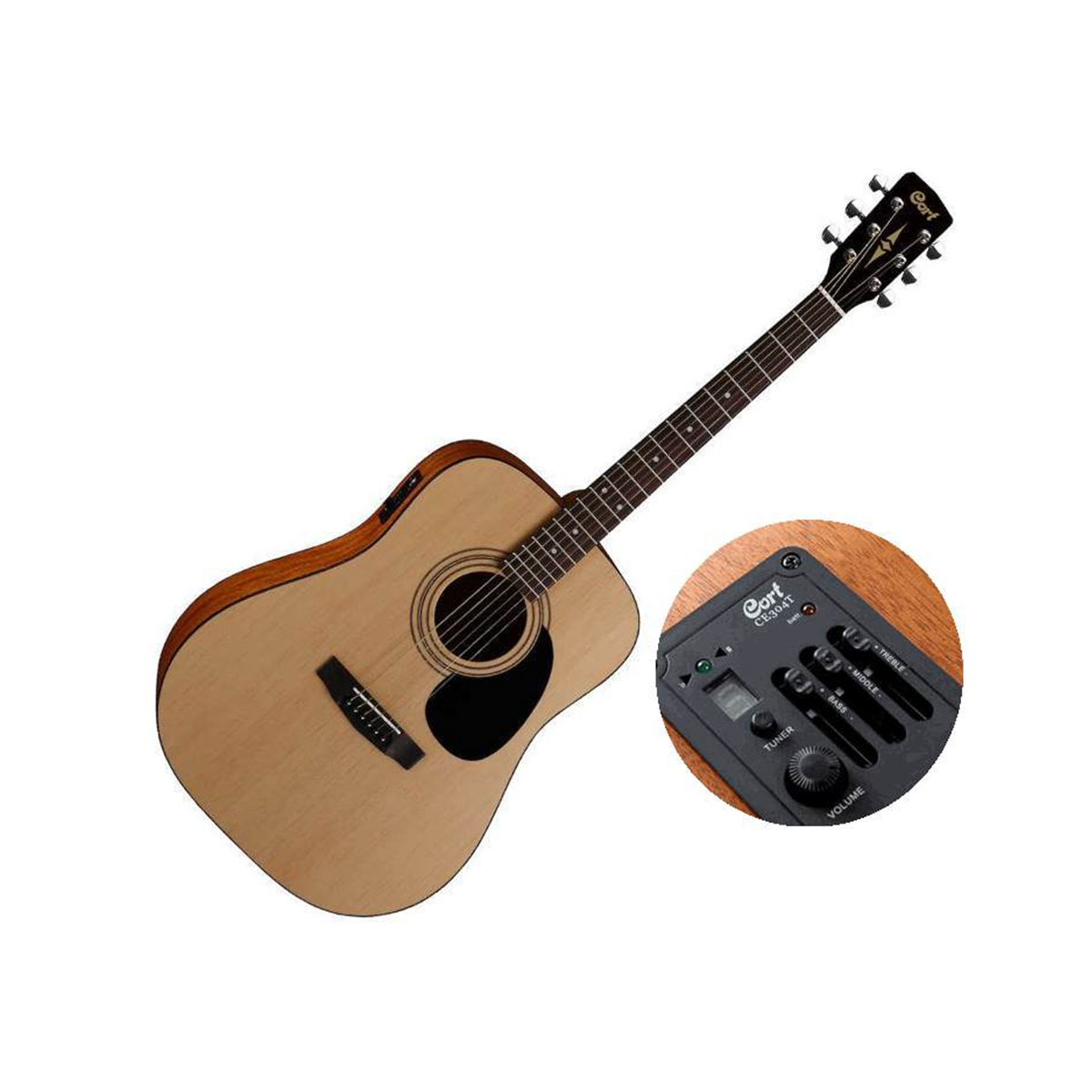 Cort AD810E OP Electro Acoustic Guitar