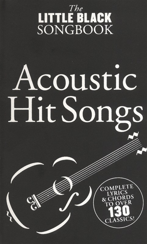 The Little Black Songbook: Acoustic Hits - Trax Music Store