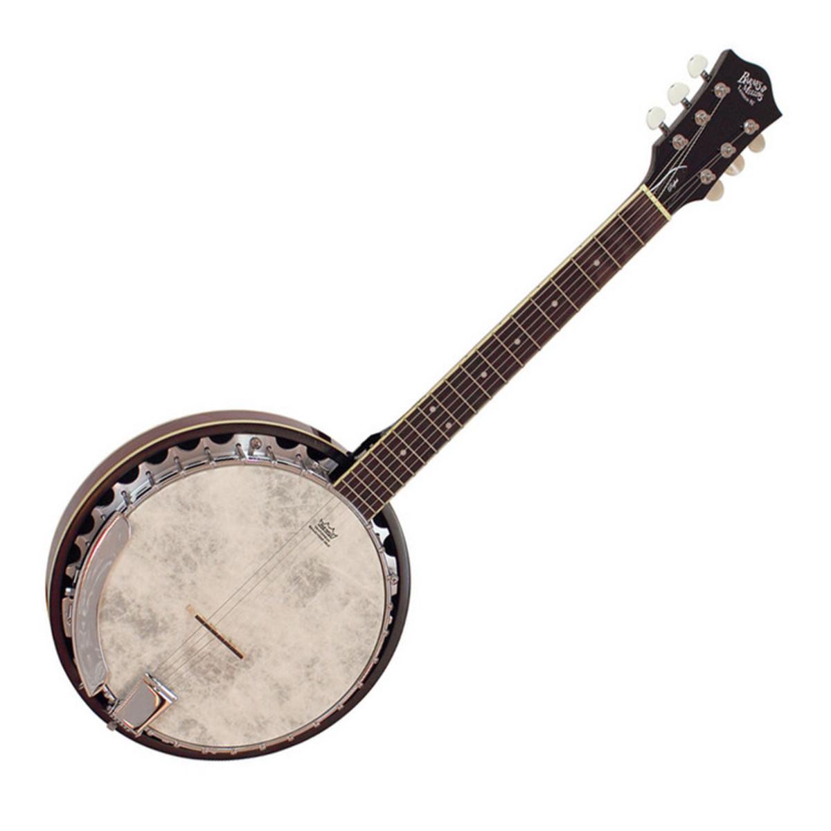 Barnes & Mullins BJ306 Perfect 6 String Guitar Banjo