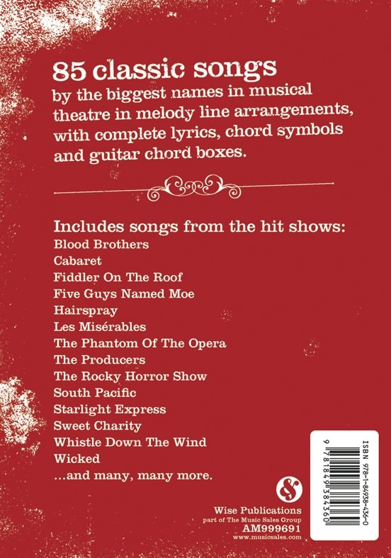 The Gig Book Showtunes Trax Music Store