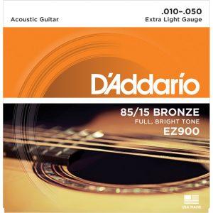 D'Addario EZ900 85/15 Guitar Strings 10-50