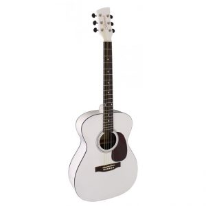 Brunswick BF200MW Folk Guitar | White