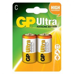 GP Ultra Alkaline Battery C Type