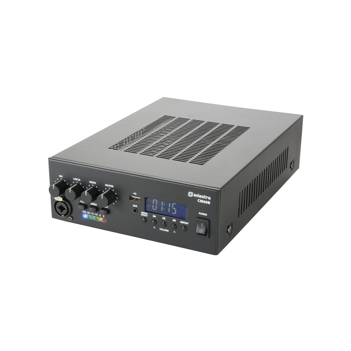 Adastra CM60B 60 Watt Compact Mixer-Amplifier w/ Bluetooth