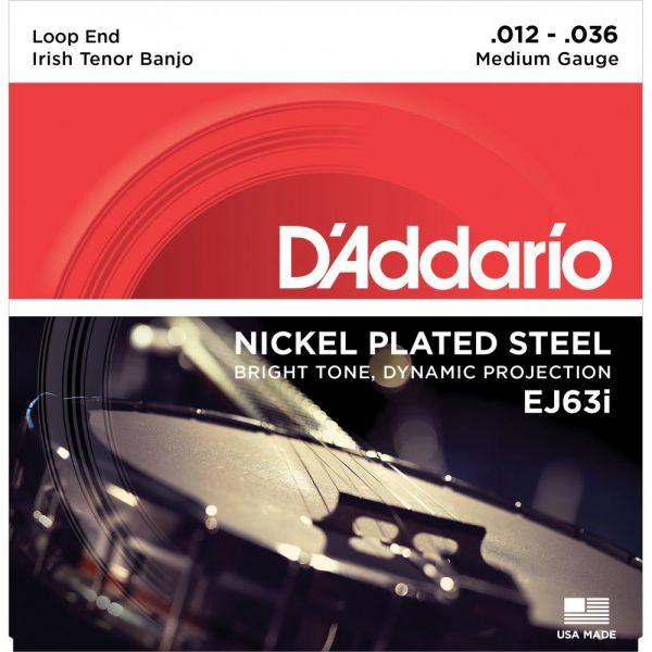 D'Addario Irish Tenor Banjo Strings 12-36
