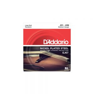 D'Addario EJ67 Nickel Wound Mandolin Strings 11-39
