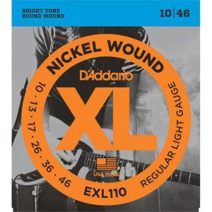D'Addario EXL110 Guitar Strings Regular 10-46