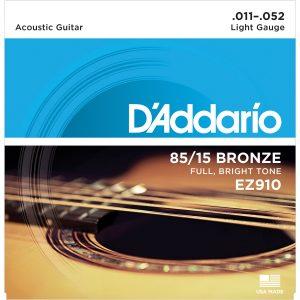 D'Addario EZ910 85/15 Guitar Strings 11-52