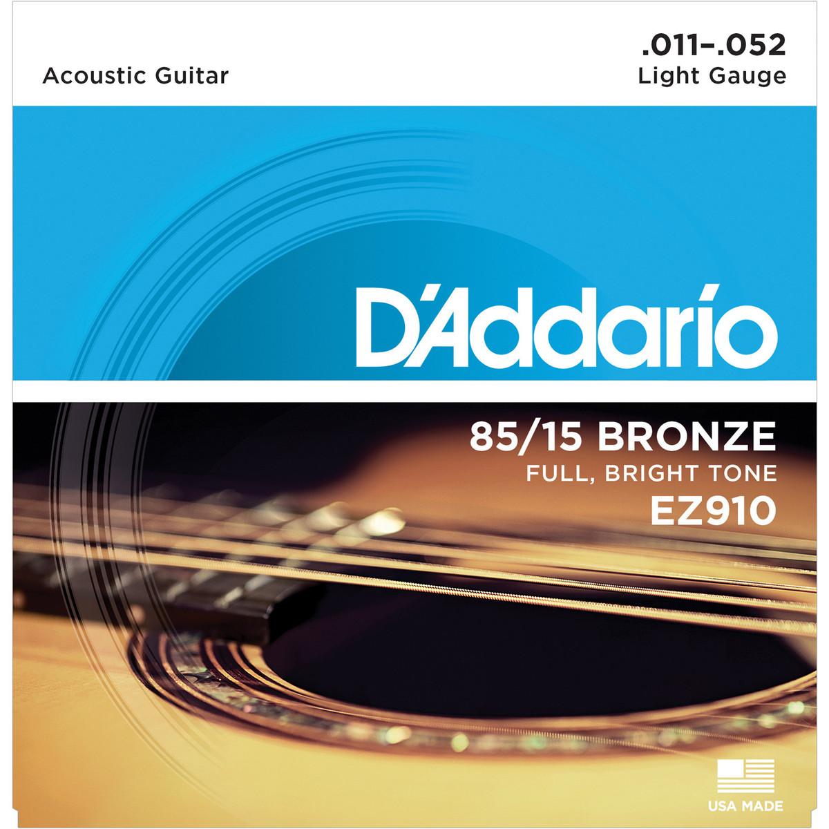 Daddario EZ910 Guitar Strings 11-52