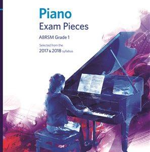 ABRSM Piano Exam Pieces Grade 1 2017-2018