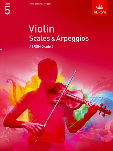 ABRSM Violin Scales and Arpeggios Grade 5