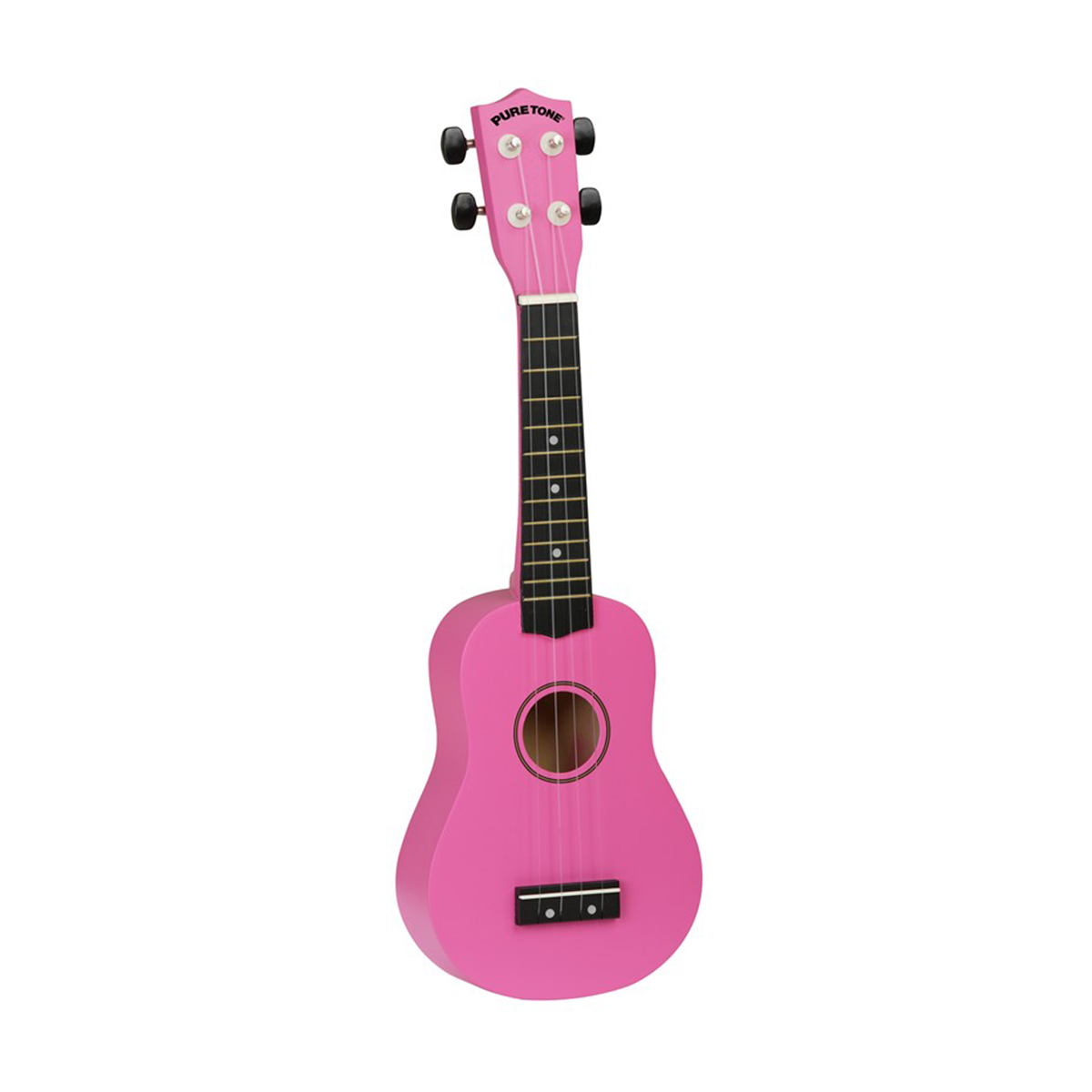Pure Tone Ukulele Pack Hot Pink