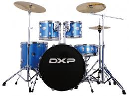The DXP JBP1211 5-Piece Drum Kit | Blue Sparkle