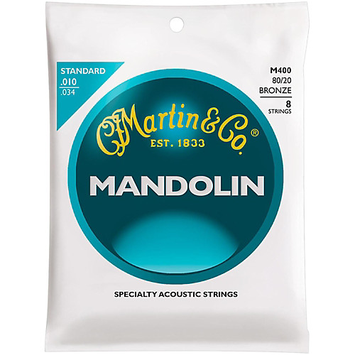 Martin M400 Mandolin Strings 10-34