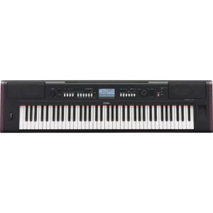 Yamaha Piaggero NPV80 Portable Keyboard Black