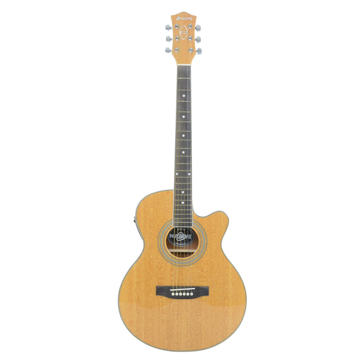Chord N5PW Electro Acoustic Guitar - Pearwood