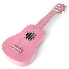 Trax Soprano Ukulele Pale Pink
