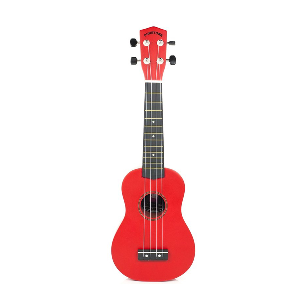 Pure Tone Ukulele Pack Red