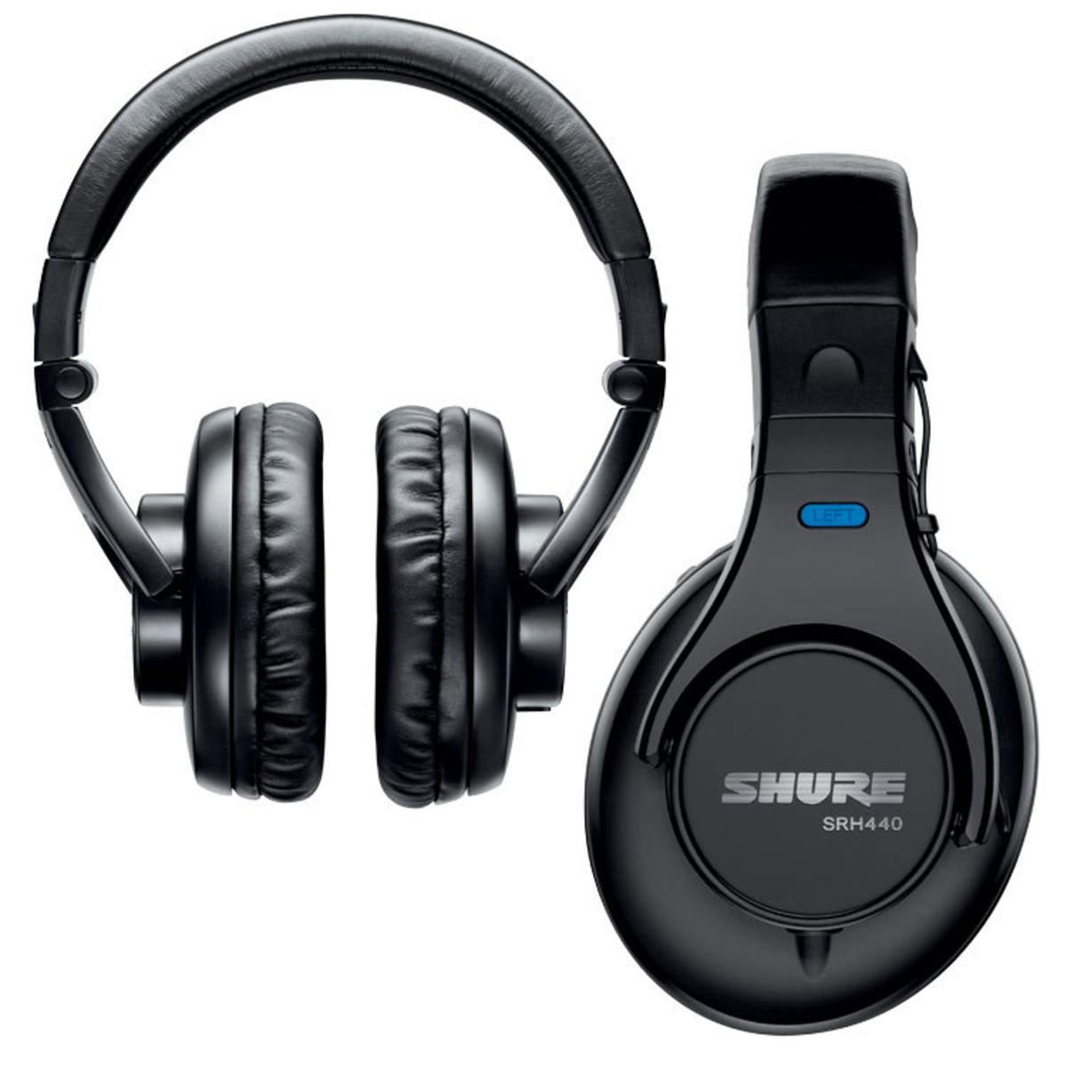 9b3d6ab65cf Shure SRH440 Professional Headphones - Trax Music Store