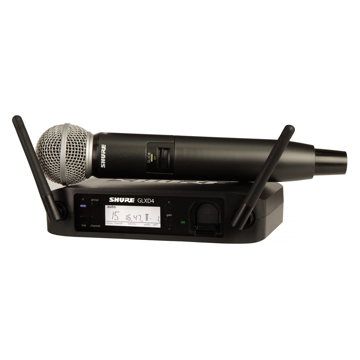 Shure GLXD24/SM58 Digital Handheld Wireless System