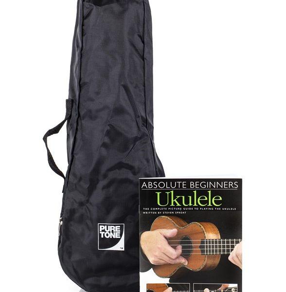 Pure Tone Ukulele Pack Yellow