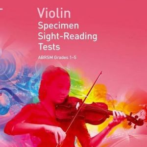 ABRSM Violin Specimen Sight Reading Tests Grades 1-5