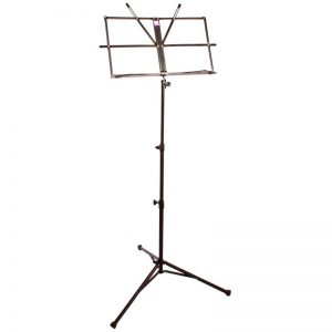 Pure Tone Music Stand with Case Black