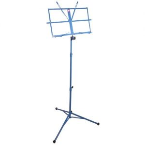 Pure Tone Music Stand with Case Blue