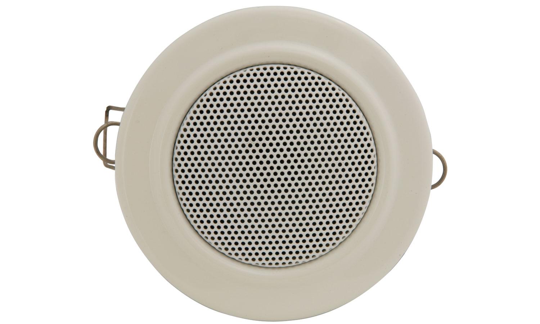 Qtx 6 Watt 2 5 Inch Metal Ceiling Speaker