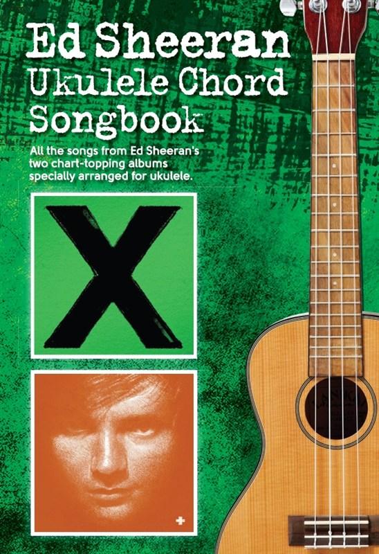 Ed Sheeran Ukulele Chord Songbook - Trax Music Store