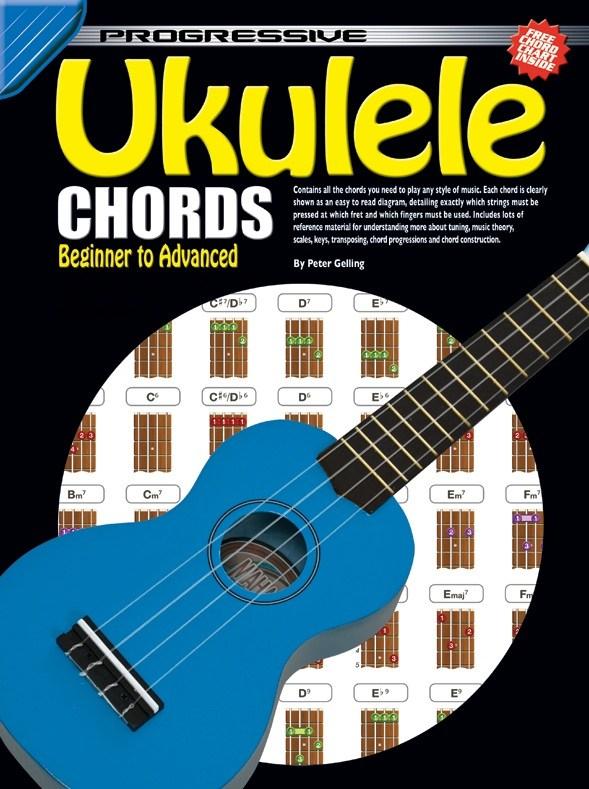 Peter Gelling Progressive Ukulele Chords Trax Music Store