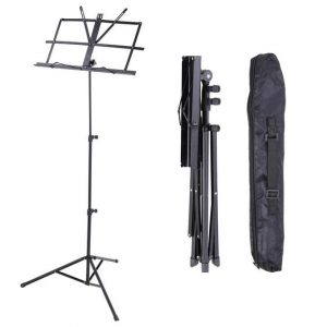 Music Stand & Carry Bag by Trax - Black