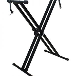 Trax Double X Braced Keyboard Stand