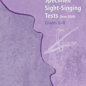 ABRSM Specimen Sight Singing Tests Grades 6-8